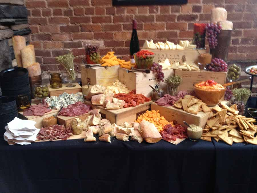 Meat And Cheese Display Table 301 Catering